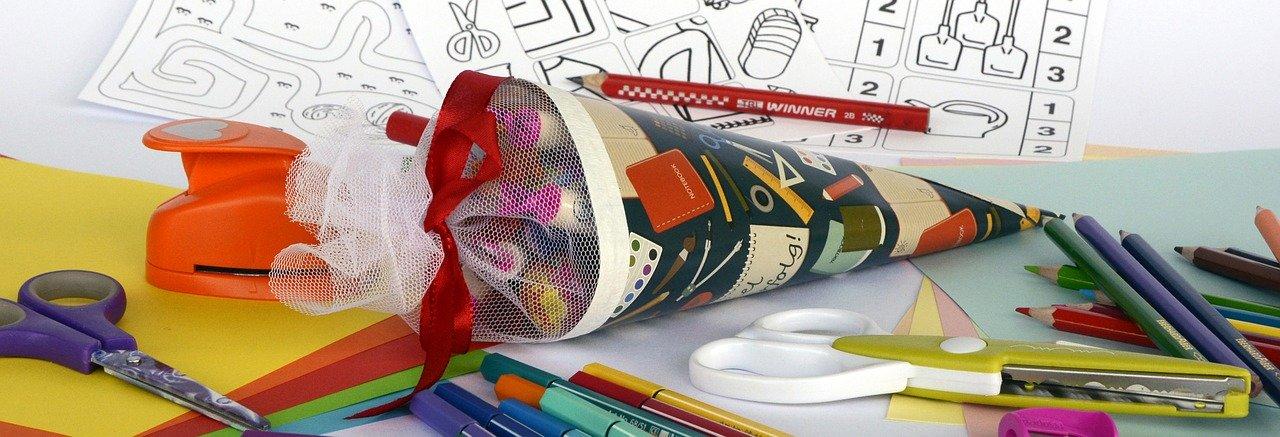 Einschulung: Die Schultüte